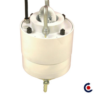 Rotating suspension with a rotating electrical supply for exhibition. FANTASTIC MOTORS ®