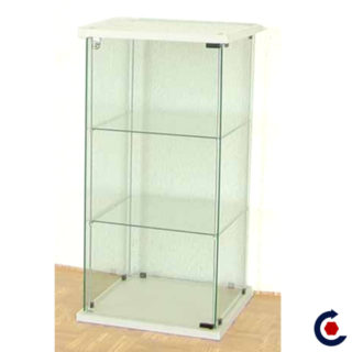 Tempered glass display case with 2 adjustable height shelves. Fantastic Motors