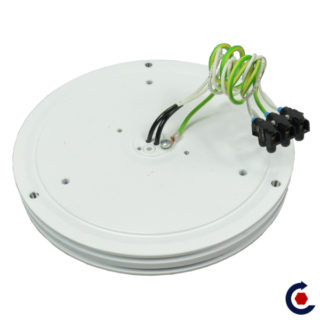 Motorized turntable with rotating electric input 1 kw FANTASTIC MOTORS