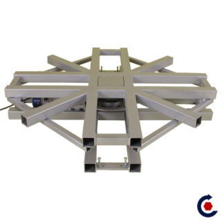 The rotating motorized PLATFORM that will follow you in a maximum of project.