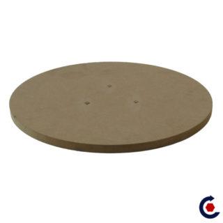 MDF tray Ø 30 cm