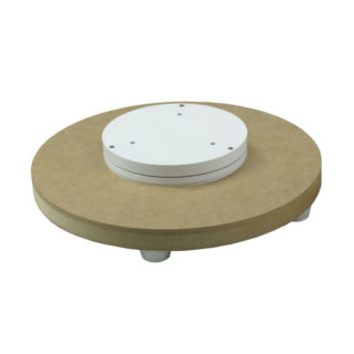 Motorised turntable to be personalised with your decor tray. FANTASTIC MOTORS advises you tel. +33(0)475590651