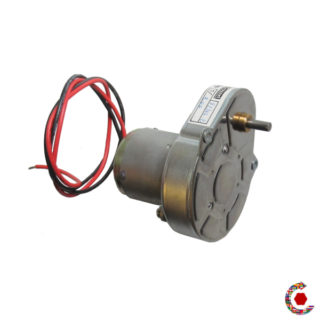 Motor 5500 rpm Gearbox 1/200 - Variable speed up to 27.5 rpm at 24Vdc - Fantastic Motors ®
