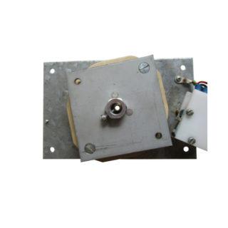 Platine motorisée 180° temporisés axe central débouchant fixe
