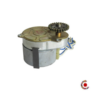 Geared motor end of stock Crouzet N°82524.4 - 6 rpm two directions  FANTASTIC MOTORS®.
