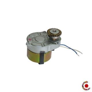 Geared motor end of stock Crouzet N°82524.5 - 6 rpm two directions  FANTASTIC MOTORS®.