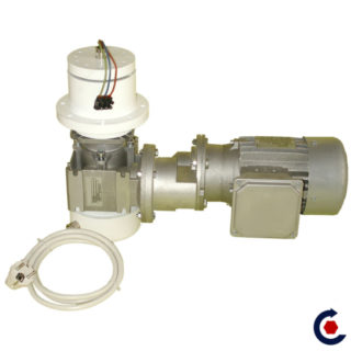 Motor for outdoor installation with 360° rotating arrival electrical and power supply/dimmer - FANTASTIC MOTORS